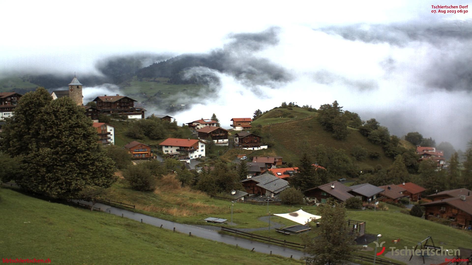 Tschiertschen Dorf zum Alpina